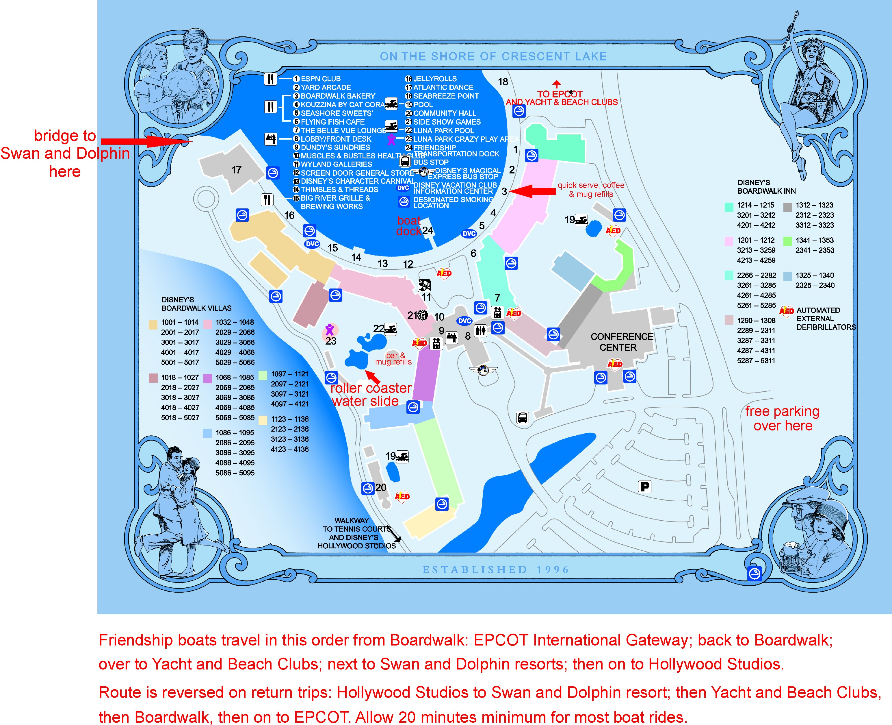 Disney\'s Boardwalk resort | planningforwdw